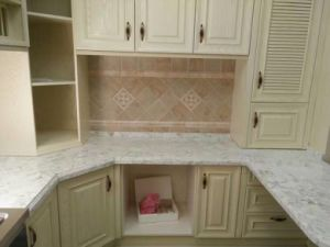 Quality Assurance Artificial Chinese Countertop Quartz Stone Slab pictures & photos