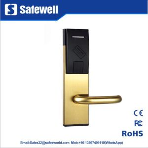 201 Stainless Steel Silver & Golden Color Hotel Door Lock pictures & photos
