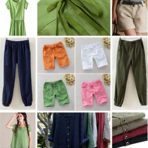 Soft Natural Linen Cotton Blend Fabric pictures & photos