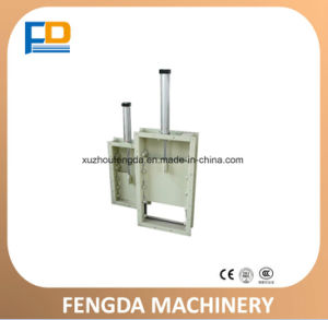 Pneumatic Slide Gate (TZMQ32× 32) for Feed Conveying Machine pictures & photos