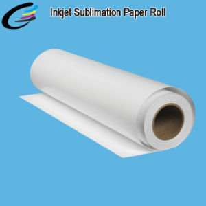 Hot Sale Sublimation Digital Heat Transfer Printing Paper Roll for Fabric Textile Printing Factory pictures & photos