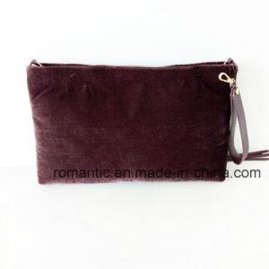 Trendy Design Lady Suede Evening Clutch Handbags (NMDK-061603) pictures & photos