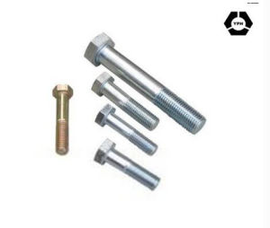 ISO4016 Carbon Steel Hex Bolt with HDG pictures & photos