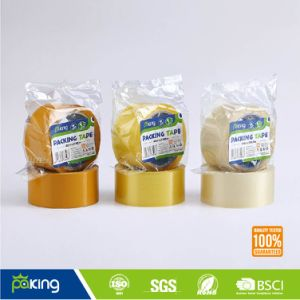 Clear & Brown Adhesive BOPP Packaging Tape for Carton Sealing pictures & photos
