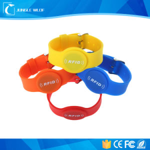 Wristband RFID Bracelets Watch Silicone Tag 13.56MHz pictures & photos