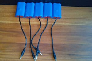 7.4V Li Ion 18650 Battery Pack 2000mAh 18650-2p1s Battery pictures & photos