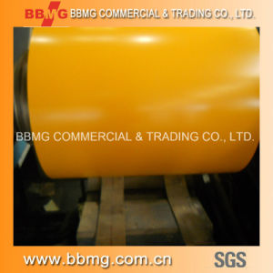 Prepainted Galvanized Steel Coil (color coated steel coil) Prepainted Gi Steel Coil / PPGI / PPGL Color Coated Galvanized Steel Sheet in Coil pictures & photos