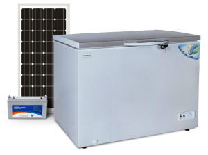 off Grid Solar DC 12V Chest Freezer 282L Triple Power Integrated pictures & photos