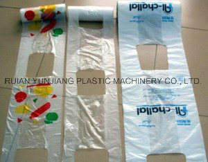 Rolling T Shirt Bag Making Machine pictures & photos