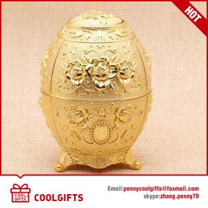 Russian Style Palace Painted Egg Shape Multifunctional Toothpick Holder pictures & photos