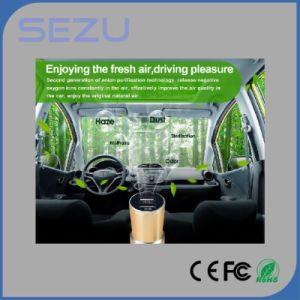New Model Factory Wholesale USB Car Charger with Air Purifier Emergency Hammer pictures & photos