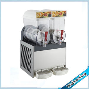 Speed Cooling Hot Sell Slush Machine 2 Bowl pictures & photos