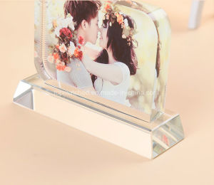 Crystal Glass Photo Frame Sublimation Blanks pictures & photos