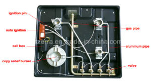 Cheap Price Built in Enamel Gas Hob Cooker Range S4503A pictures & photos