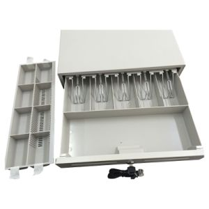 Jy-425A Cash Drawer with Removable Coin Tray and Slide Tray pictures & photos