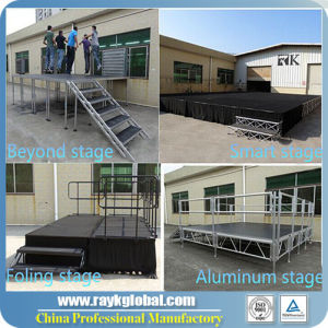 2017 New Quality Standerd School Portable Stage Smart Stage pictures & photos