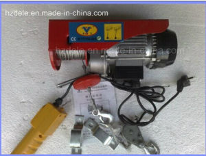 Mini Wire Rope Electric Hoist with DC Control pictures & photos