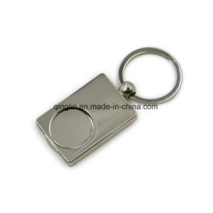 Custom Logo Promotional Trolley Coin Key Ring pictures & photos