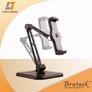 Swiveling Arms Adjustable Tablet Holder Stand for Tablet Table Mount