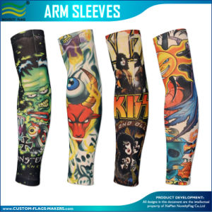 Cooling Anti-UV Gym Sport Arm Sleeve (B-NF43F14004) pictures & photos