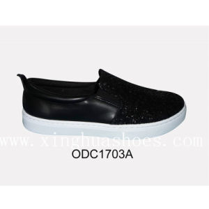 New Hot Type Comfortable Flat Canvas Woman Shoes pictures & photos