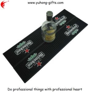 Customized Non-Toxic PVC Rubber Bar Mat for Promotion (YH-BM043) pictures & photos