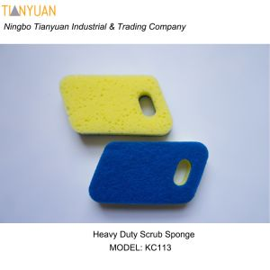 Heavy Duty Scrub Sponge/ Dish Wash Sponge pictures & photos