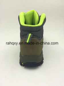Safety Protection Leather Material Steel Toe Outdoor Shoes (16101) pictures & photos