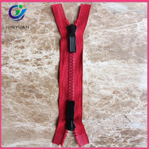 Zipper with Semi Auto Lock Slider for Garment pictures & photos