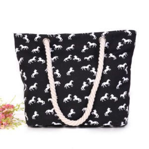 Modern Printed Large Handbag Shopping Bag for Women pictures & photos