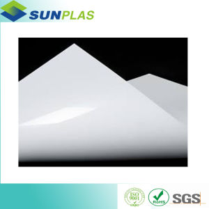 White Thin PVC Sheet Thickness 0.3mm for Advertising Printing pictures & photos
