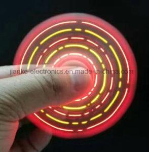 Colorful LED Hand Light Spinner Toy Finger Spinner (6000)