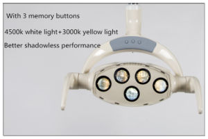 Oral Light Medical Operation Lamp for Dental Unit pictures & photos