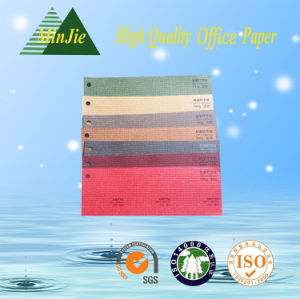 Color Embossed Packaging Paper for Notebook Cover pictures & photos