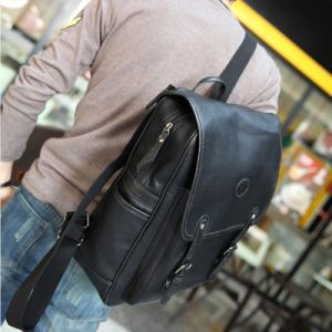 2017 Fashion Bags Men Packbag PU Fashion Backpack for Boy Use pictures & photos