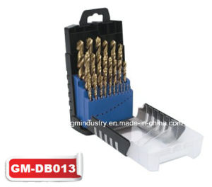 HSS Tin-Coated Twist Drill Bit Set (GM-dB013) pictures & photos