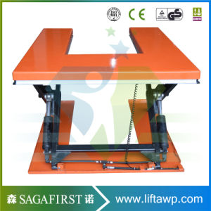 1000kg Hydraulic Fixed Scissor Elevator with CE Approved pictures & photos