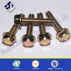 All Thread Metal Hex Flange Bolt pictures & photos