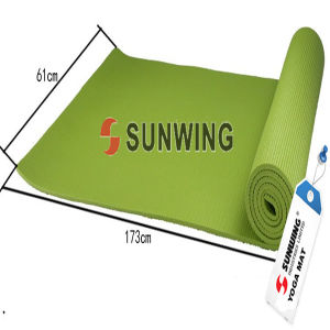 Custom Printed Natural Rubber Yoga Mats pictures & photos