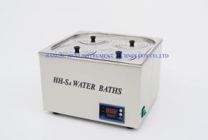 Hh-S4 Digital Thermostatic Magnetic Stirring Water Bath pictures & photos