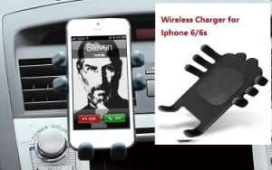 Hot Car Qi Wireless Mobile Phone Charger pictures & photos