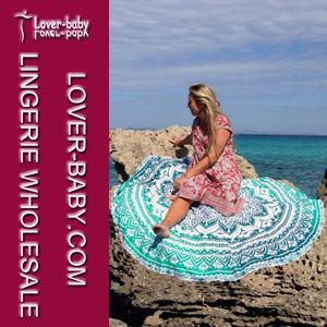 Beach Blanket Round Mandala 20161 New Style (L38357) pictures & photos