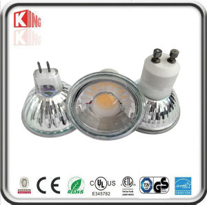ETL CE Approved 5W Dimmable COB GU10 LED (KING-GU10-5G) pictures & photos