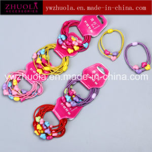 Elastic Hair Bands with Plastic Ball pictures & photos