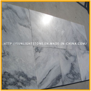 Natural Polished White/Black Wooden Stone Marbles for Flooring/Countertop/Paving/Wall pictures & photos