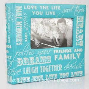 Popular Slogan Printing Paper Photo Album with Photo Window pictures & photos