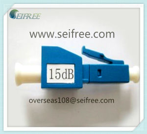 LC Single Mode Fiber Optic Female and Male Attenuator (15dB) pictures & photos
