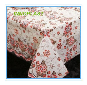 PVC Nt Lace Table Cloth New Designs in Roll pictures & photos