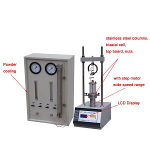 10kn Light-Duty Triaxial Testing Equipment pictures & photos
