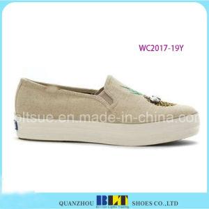 Women Canvas Shoes pictures & photos